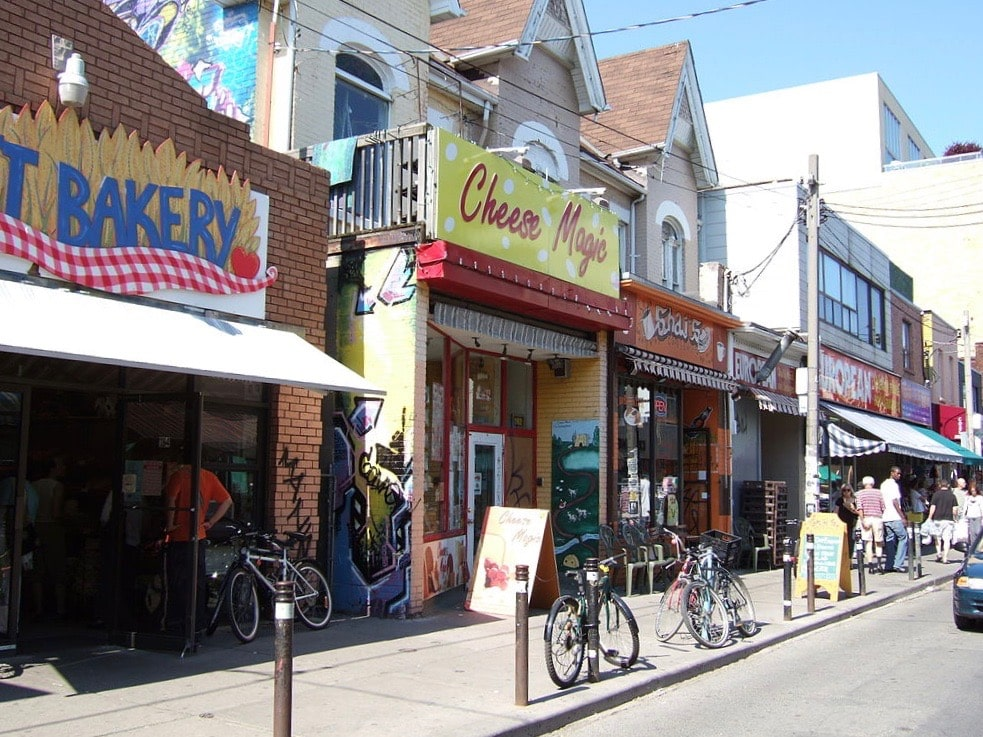 Canada for Kids: Shops in Kensington Market