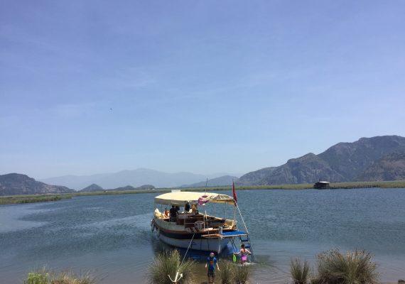 A Dalyan Day Trip: Boats, Beaches, Blue Crabs and Mud Baths