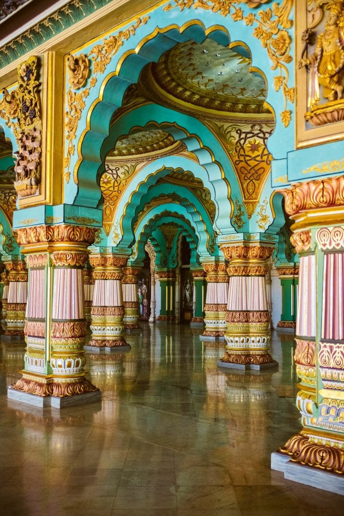 India for kids: inside the Mysore Palace