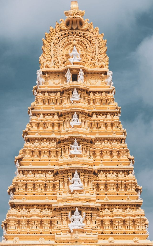 India for kids: temple in Mysore