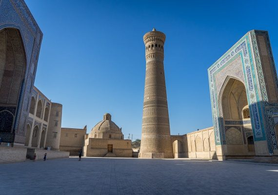 The Ark of Bukhara, Kalyan Minaret and Silk Road Gems in Uzbekistan