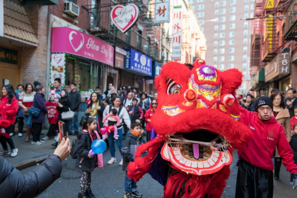 Things to do in NYC with kids: Chinese New Year