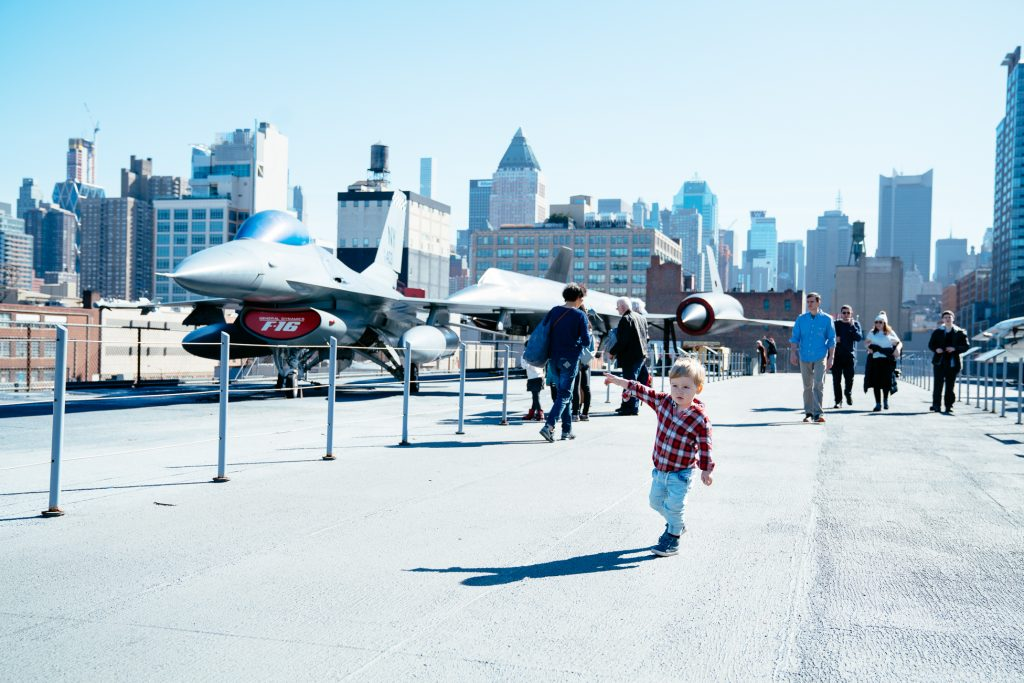 Things to do in NYC with Kids: The Intrepit