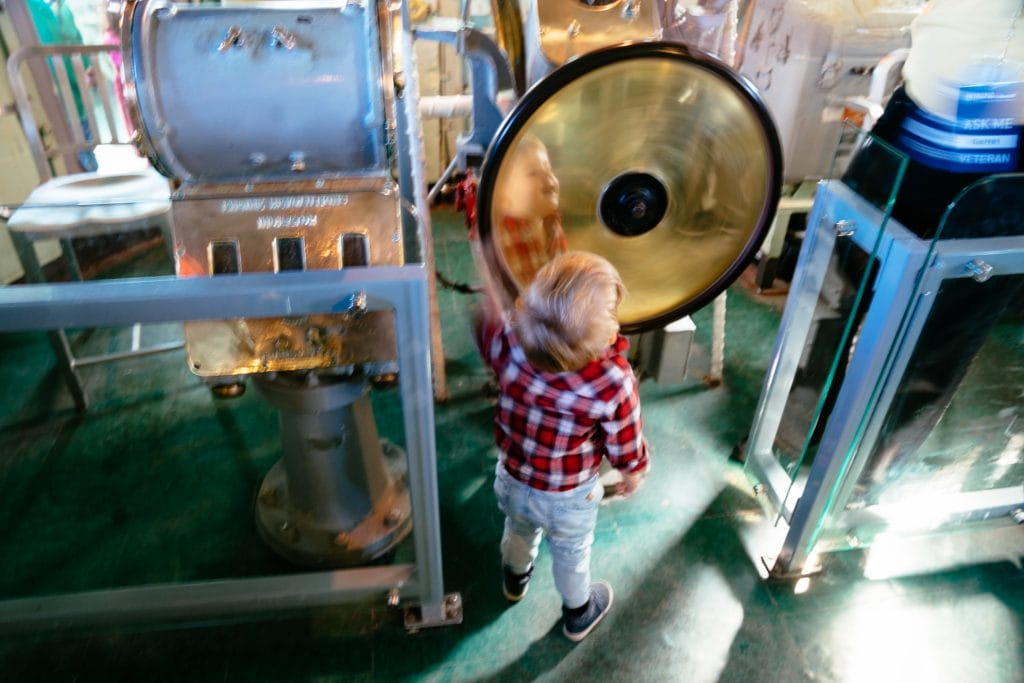 Things to do in NYC with kids: Exploring The Intrepid