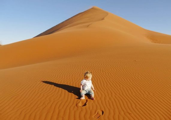 Namibia with Kids: Sand Dune Adventure in Sossusvlei