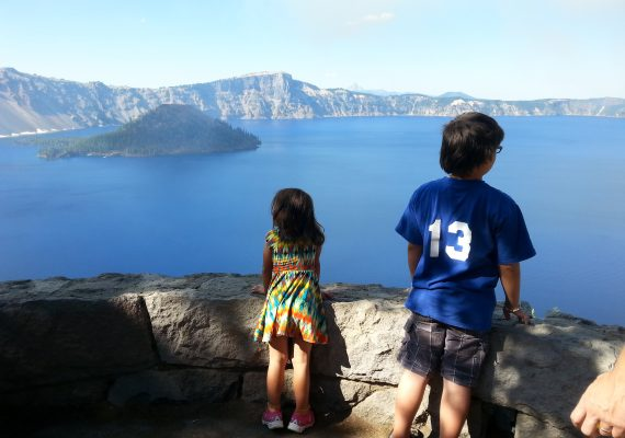 Crater Lake For Kids: Great Views and Phantom Ships