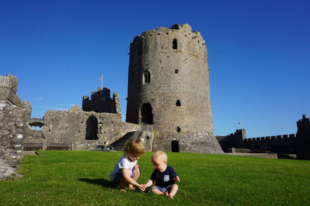 family travel kids castle