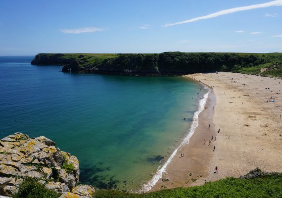 Wales' Prettiest Beach and Most Amazing Castle