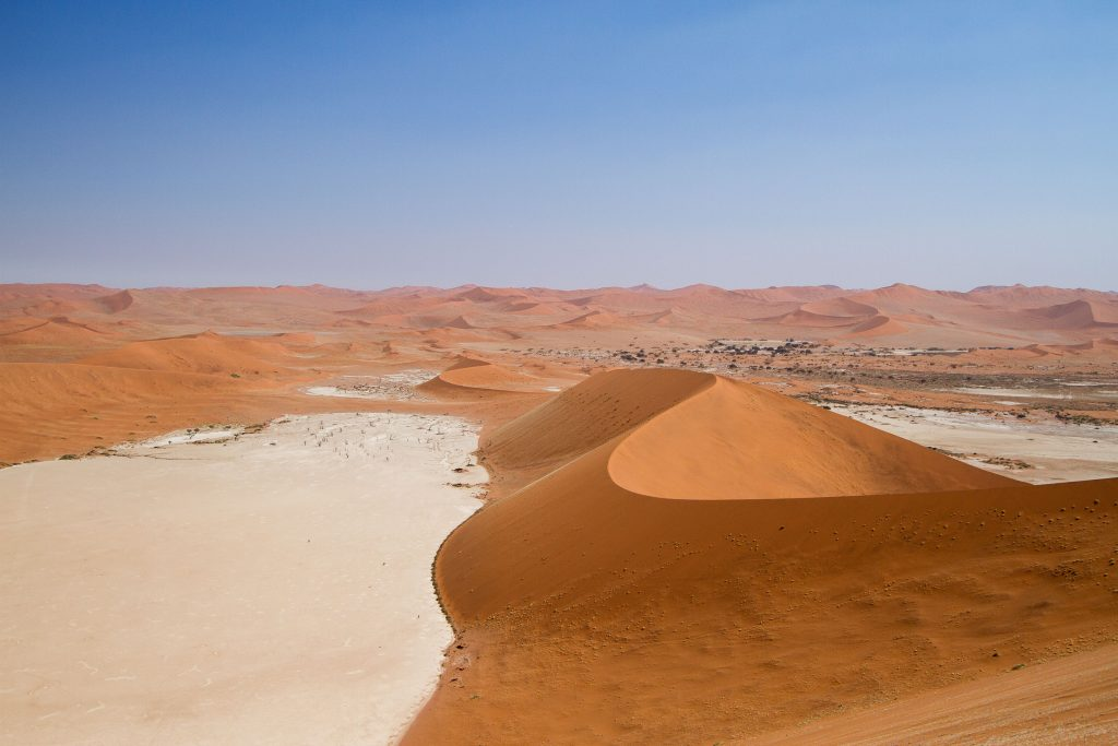 Africa safari holiday: Dunes in Sossusvlei