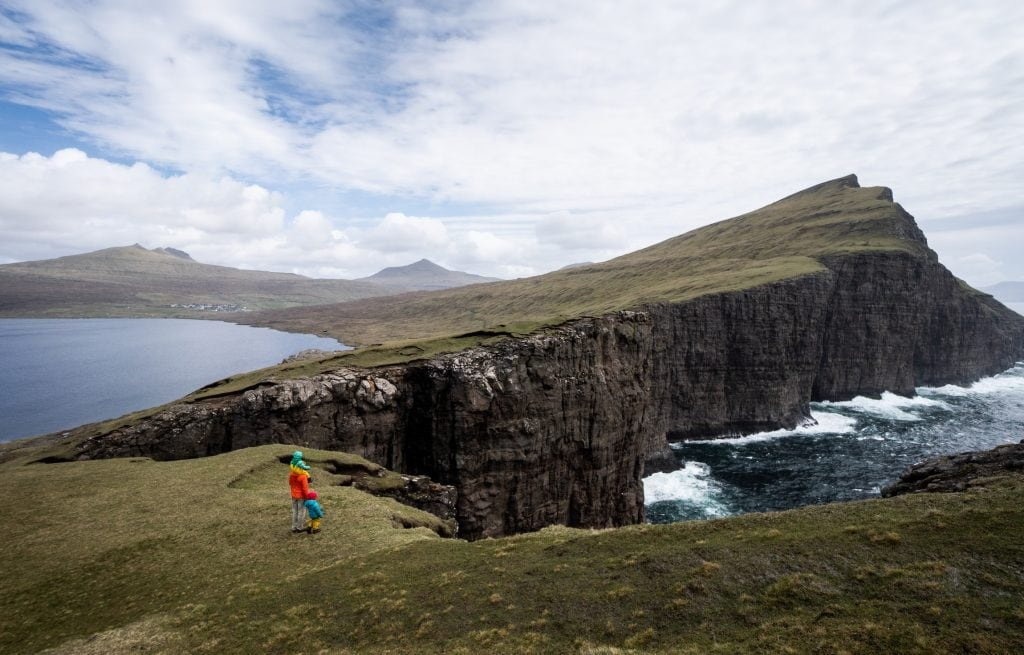 Lake Sørvágsvatn offers some of the best views in the Faroe Islands