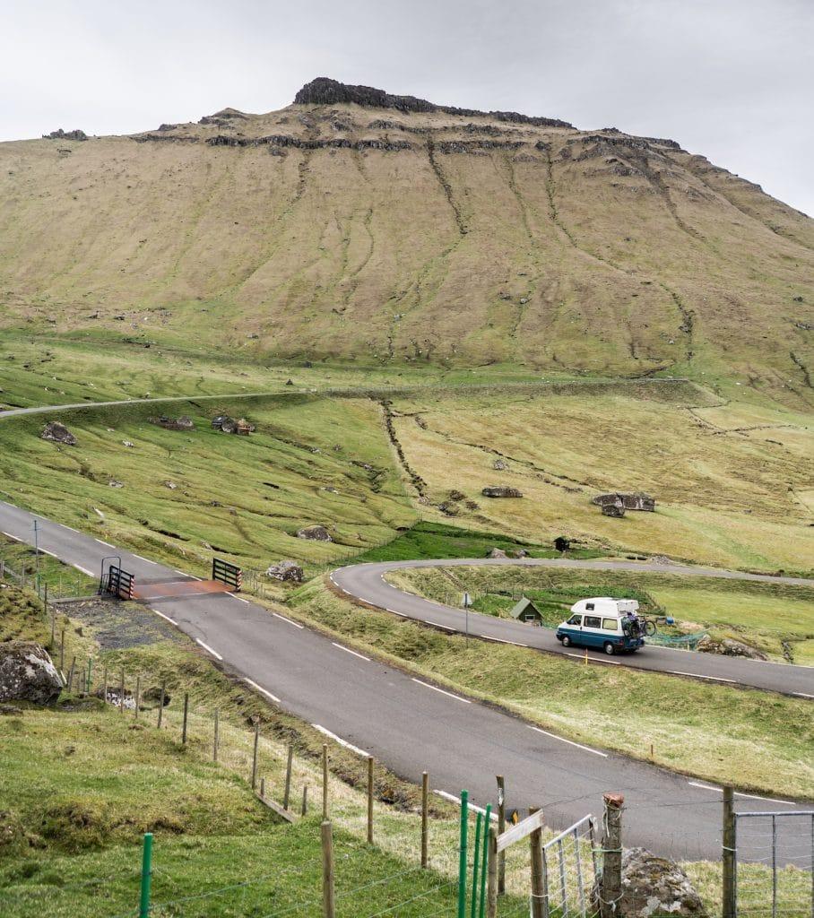 Explore the Faroe Islands by van
