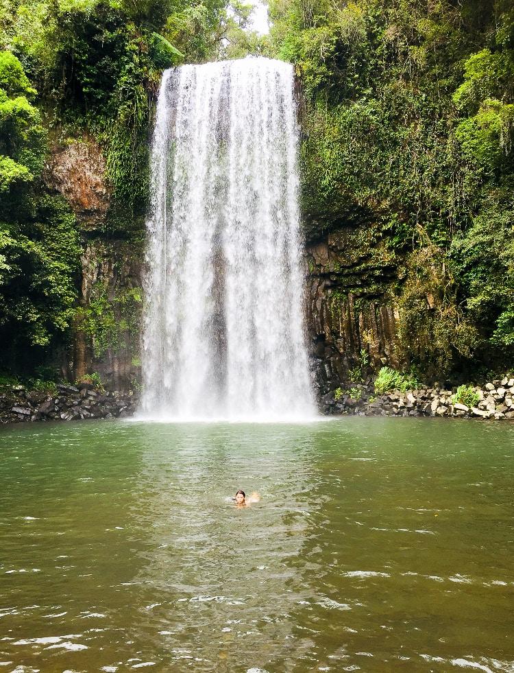 Australia for Kids: Millaa Millaa Falls