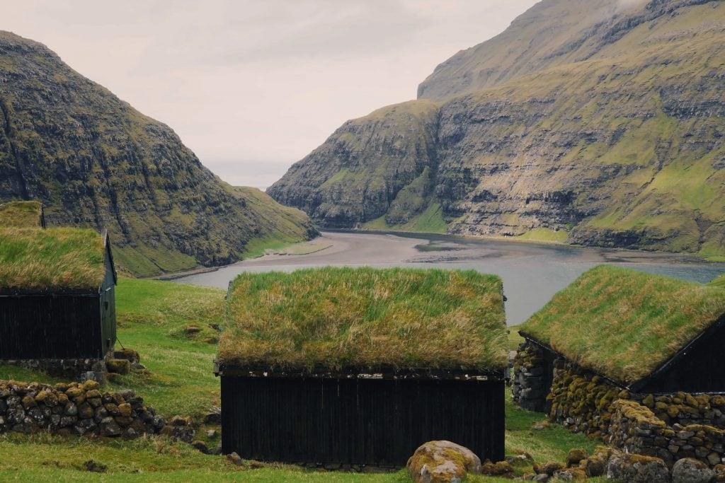 Faroe Islands with kids: houses