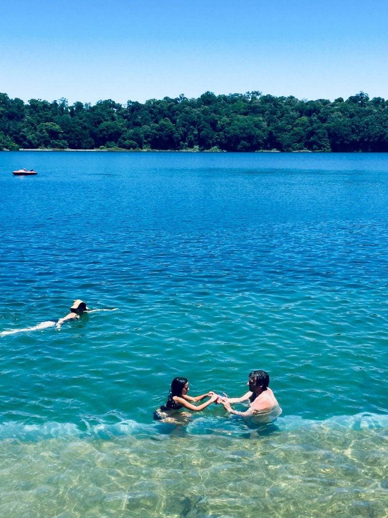 Australia for Kids: Lake Eacham