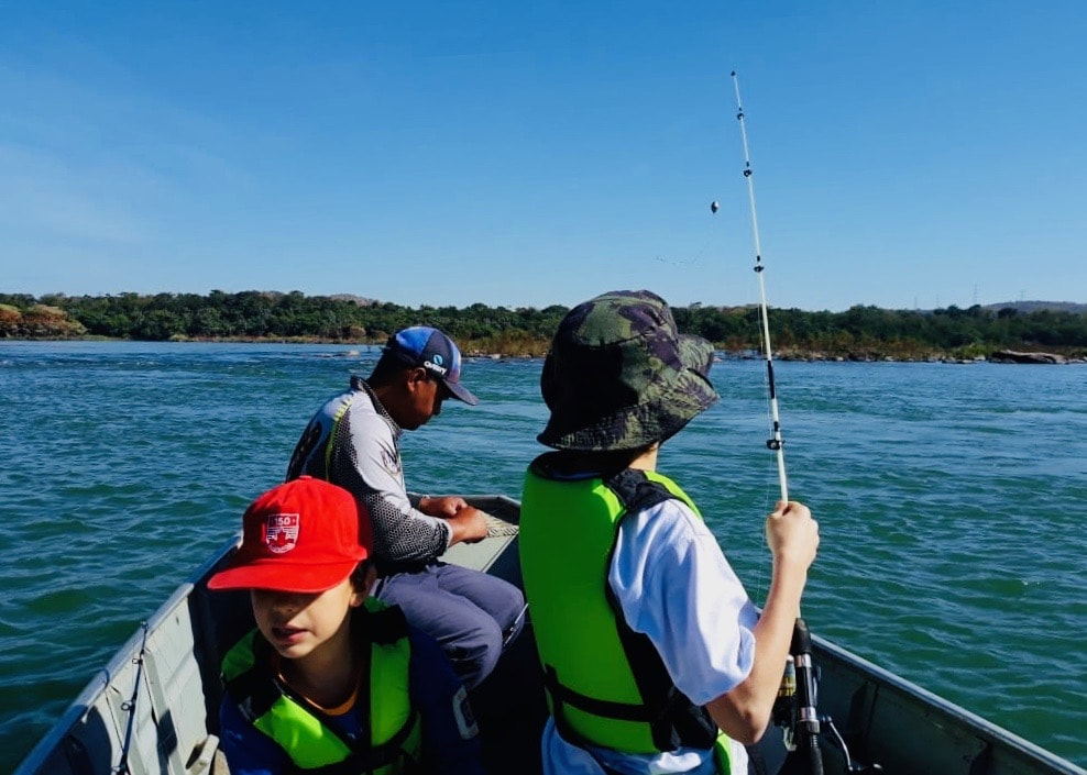 Brazil for Kids: Fishing on the Sao Francisco River