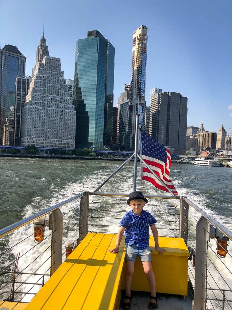 Things to do in NYC with Kids: Ferry Ride