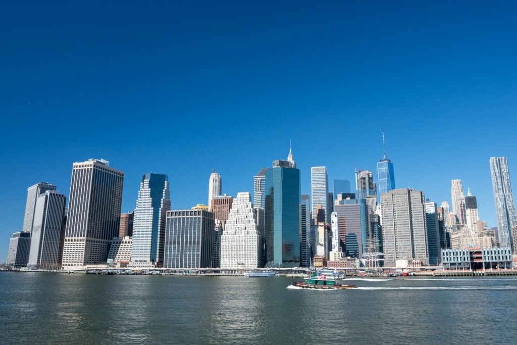 Things to do in NYC with Kids_Manhattan skyline