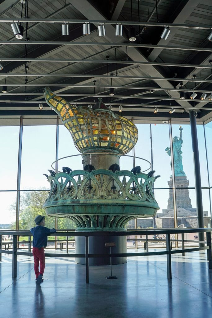 Things to do in NYC with Kids: Museum at the Statue of Liberty