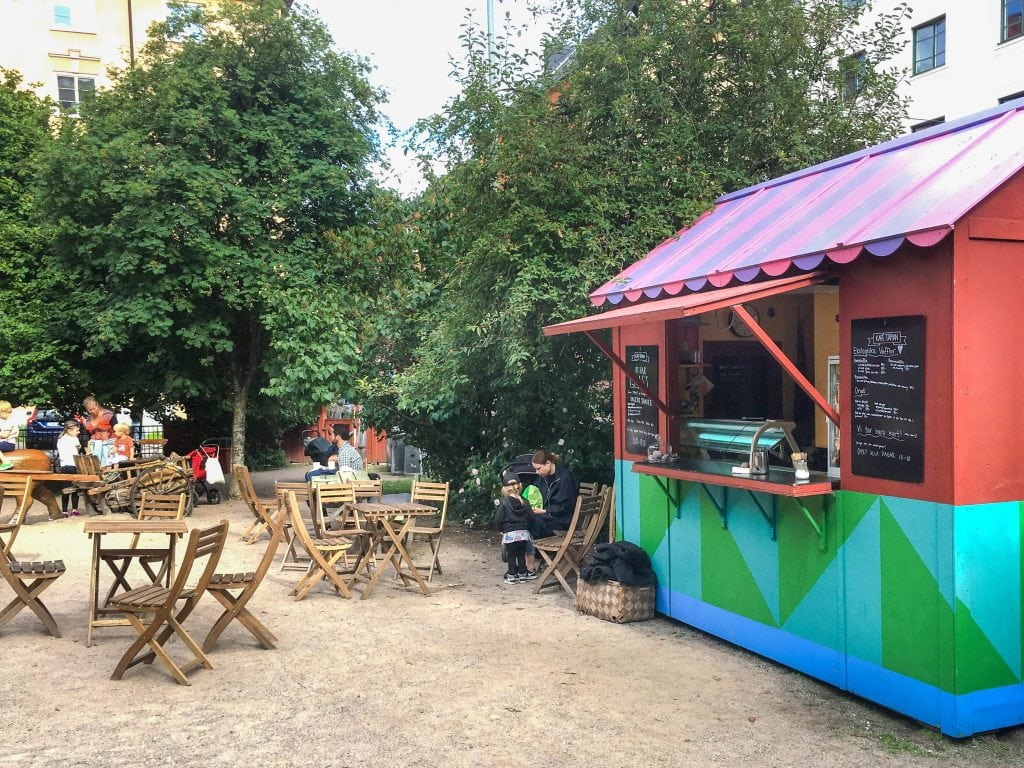 Things to do in Stockholm with kids_cafe at Brygartäppan