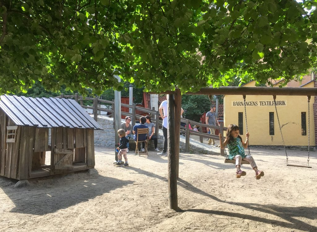 Things to do in Stockholm with kids: Brygartäppan playground