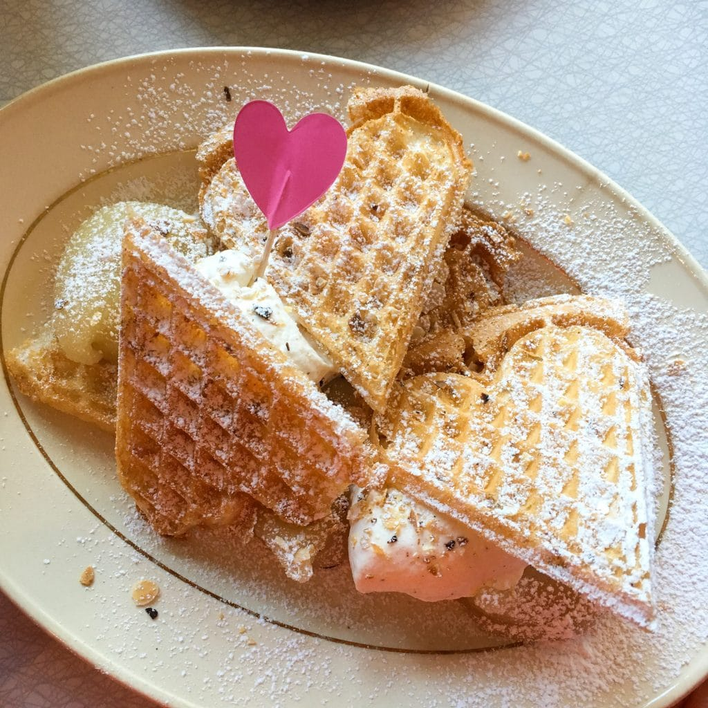 Things to do in Stockholm with kids: Waffles